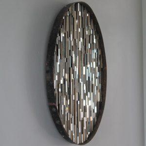 Whiskey Hoop Mirrors - Sculptural Artwork by Lee Borthwick